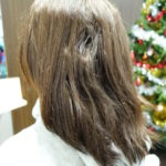 縮毛矯正ですけど毛先が真っ直ぐはイヤなんです!