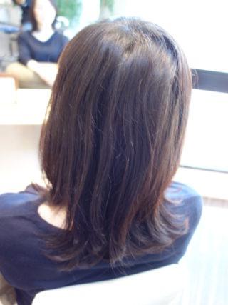 髪色を明るくしてハナヘナで春先取り~