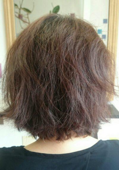 ザラザラ 髪の毛