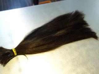 初めてのカットがヘアドネーションでバッサリショートヘア!?