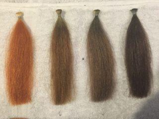 ヘナとヘアカラーは白髪は染まりますけど全く違います