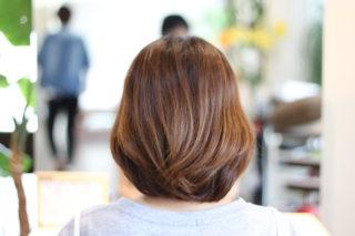 長さは同じでもヘアスタイルは変わるんですよ