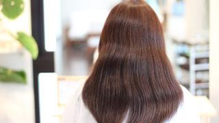 髪が多くておろせない いつも同じ髪型なんです