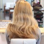 金髪バサバサのダメージ毛からのスタイルチェンジ