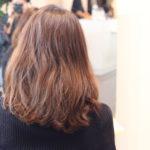 髪が細くてペタッとするから ゆるふわパーマでボリュームUP♪