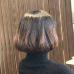 バッサリボブで髪をキレイにしたそのあとは・・・