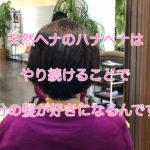 天然ヘナはやり続けることで髪質が変わります